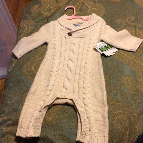 Kapital K One Pieces Cable Knit Onesie For Baby Poshmark